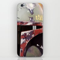 boba fett iPhone & iPod Skins featuring Boba Fett by Mel Hampson