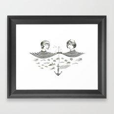 Twins 1 Framed Art Print