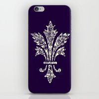 royal iPhone & iPod Skins featuring Royal by Candace Fowler Ink&Co.