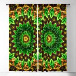 Jungle Vibes Mandala Blackout Curtain