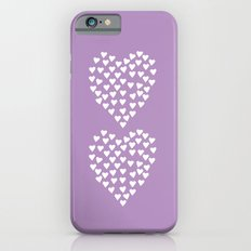Hearts Heart x2 Radiant Orchid iPhone 6s Slim Case