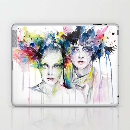 skies on fire Laptop & iPad Skin