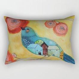 souvenir d'une nuit paisible Rectangular Pillow