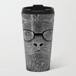 WHITE LION Metal Travel Mug