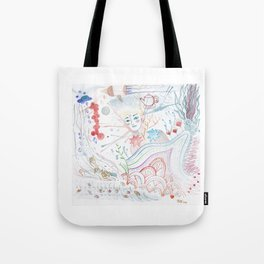 Easy Uneasy Tote Bag