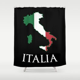 Italy-Italia Shower Curtain