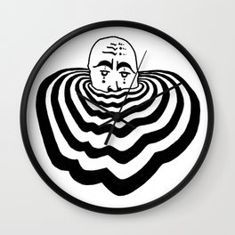 Ripples #1 Wall Clock