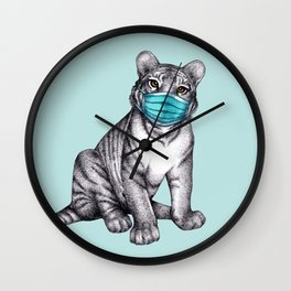 Fierce Compassion & Considerate Compliance  Wall Clock