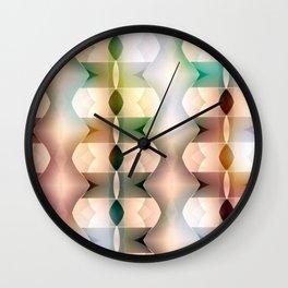 Polarized Geometrics Wall Clock