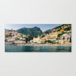 Positano Panorama Canvas Print