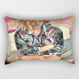 Pout Rectangular Pillow