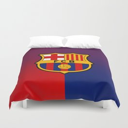 barcelona Sport Football Spain red blue team Duvet Cover