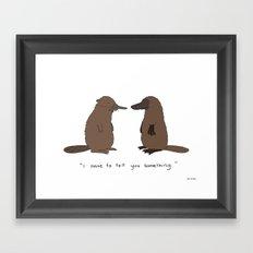 Honesty  Framed Art Print