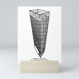 Seagram Building Mini Art Print