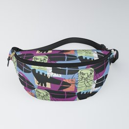 Time surf 3 Fanny Pack