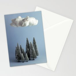 A cloud over the forest Stationery Cards