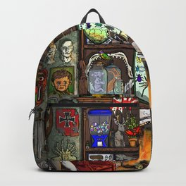 Creepy Cabinet of Curiosities Backpack