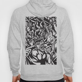 Illustration of Rock Concert Hoody