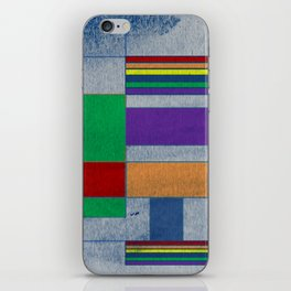 Mid-Century Modern Art - Rainbow Pride 1.0 iPhone Skin