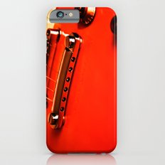 Six Strings On Red iPhone 6s Slim Case
