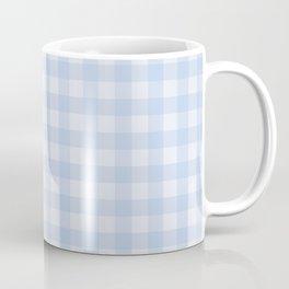 Gingham Pattern - Blue Coffee Mug