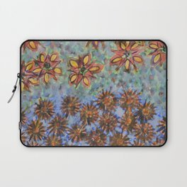 Asters and Paradise Flowers Laptop Sleeve