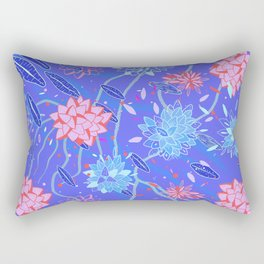 Heroinax Freaky Flowers Rectangular Pillow