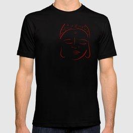 Red Buddha T-shirt