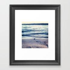 Beach Feeling Framed Art Print