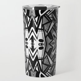 "Future funk Pattern ""symeric"" Travel Mug"