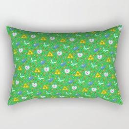 Ocarina of Time Pattern / Legend of Zelda Rectangular Pillow