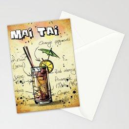 Mai Tai Stationery Cards