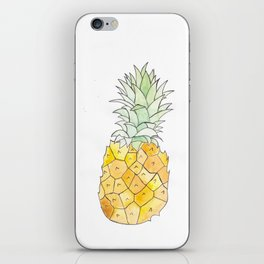 Pineapple (Painting the Hunger Away Project) iPhone Skin