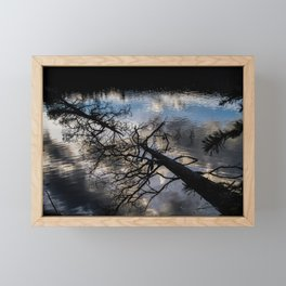 Earth to Water Framed Mini Art Print