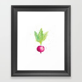 Radish Framed Art Print