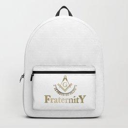 Freemasonry symbol Backpack