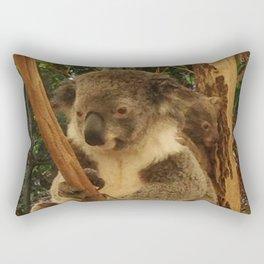 Cute koala and joey out in Australia Rectangular Pillow
