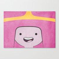 princess bubblegum Canvas Prints featuring Princess Bubblegum by Some_Designs