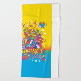 Lanna Expo 2030 Beach Towel