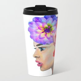 Your mind is a garden Metal Travel Mug