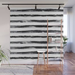 Grungy stripes Wall Mural