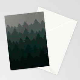 Pine landscape Stationery Cards