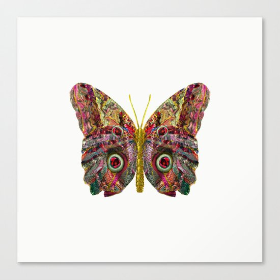 Float Like A Butterfly Canvas Print