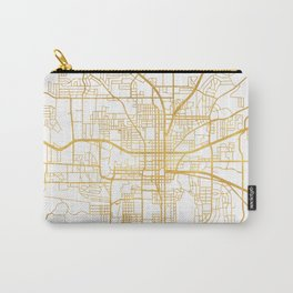 TALLAHASSEE FLORIDA CITY STREET MAP ART Carry-All Pouch