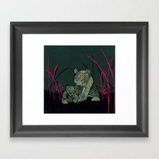 Little Emperors Framed Art Print
