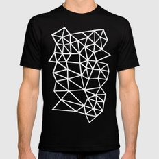 Segment Dense Black MEDIUM Mens Fitted Tee