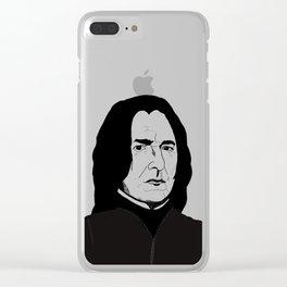 Severus snape Clear iPhone Case