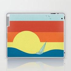 sailing to the sunset Laptop & iPad Skin
