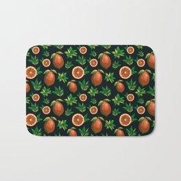 Lemon Love Orange Bath Mat