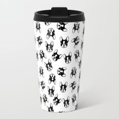 French bulldog pattern Travel Mug